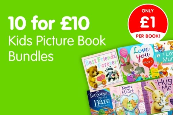 10 For £10 Kids Picture Book Bundles At The Works