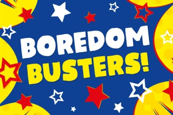 Stay Entertained At Home With Boredom Busters From The Works!