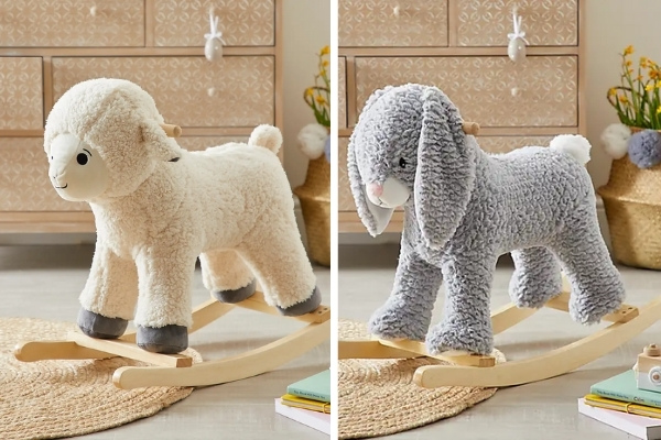 Easter Sheep & Bunny Rockers £35  + Delivery At Dunelm